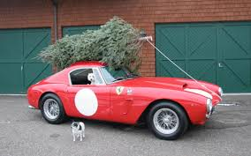 how to strap a christmas tree to your car without damage