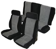 Seat Upholstery 84 87 Buick Grand National Style Front Buckets U0026 Rear Seat