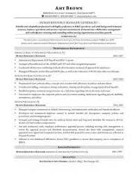 human resources entry level resume sample how to write an entry
