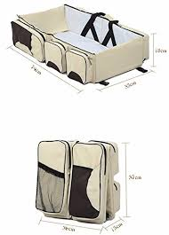 buy home cube multi functional 3 in 1 travel bed u0026 diaper bag for