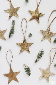 Make Christmas Decorations At Home by Quick And Easy Christmas Decorations To Make Birch Decorations