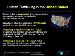 Human Trafficking Estimates by What Is Human Trafficking Ppt
