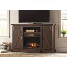 ameriwood farmington heritage light pine fire place entertainment