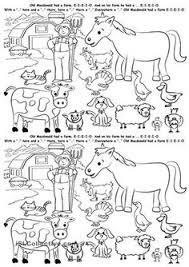 snapshot image of farm animal tally mark worksheet letter of the