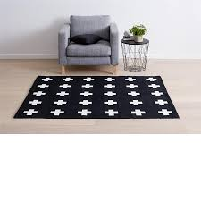 Kids Street Rug by Cross Print Rug Black U0026 White Kmart I Want I Want