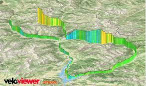 Map Of Tour De France by