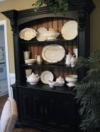 Country Hutch Furniture I Did This Same Thing Once To A China Hutch My Mom Is Still