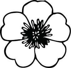 coloring pictures of flowers to print colouring pages of simple flowers printable coloring flower color