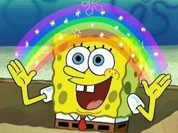 Spongebob Meme Creator - spongebob rainbow meme generator imgflip