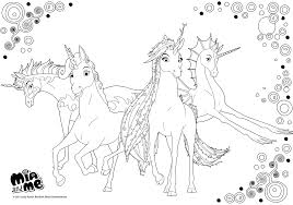 mia and me coloring pages getcoloringpages com