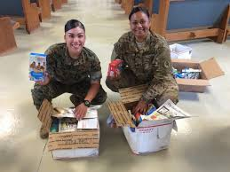 care packages for soldiers chaplain sends thank you note for care