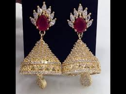 buttalu earrings new and diamond jumkas and buttalu sets for women