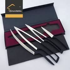 kitchen knives ebay deglon design 5cr15 stainless steel meeting knife set 4pc kitchen