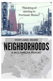 Portland Neighborhood Map Poster by I Love This Map Of Portland Neighborhoods Gr8 Neighborhoods Of