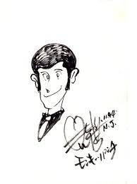 monkey punch lupin iii sketch in dave morris u0027s anime and