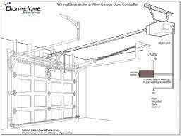 Blue Max Garage Door Opener Manual by Garage Doors Wiring Diagram Garage Door Opener Craftsman Genie