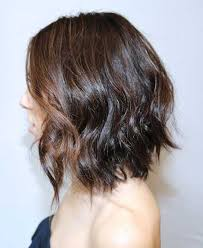 angled curly bob haircut pictures shoulder length wavy bob haircuts google search hair pinterest