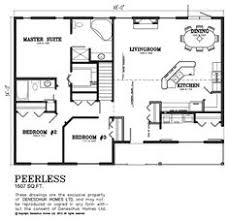 1500 Sq Ft House Floor Plans 1000 Sq Ft House Plans Bedrooms 2 Baths Square Feet 1191