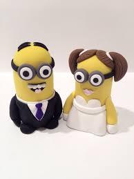 minion wedding cake topper minion wedding cake topper by cynthiakeene on deviantart