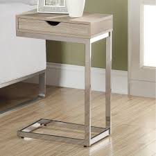 grey metal bedside table attractive remarkable metal nightstands with drawers fantastic