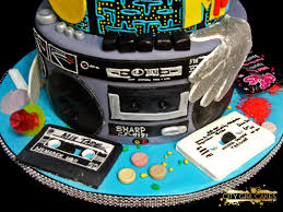 80s theme cake u2013 happy times tales from the cake cave