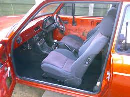 Mk2 Escort Rs2000 Interior 1979 Ford Escort Mk2 Orange