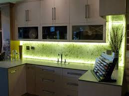 glass backsplash for kitchen illuminated kitchen backsplash with rice paper leaves into