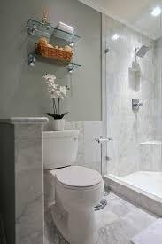 carrara marble baseboard bathroom contemporary with square