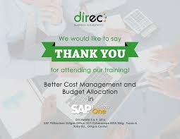 thank you for attending on our event better cost management and