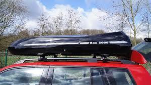 porta surf auto foto di box portabagagli box da tetto premium in vtr