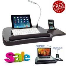 Laptop Desk With Led Light Laptop Buddy 72 698006 Portable Tray Table Desk Stand Foam