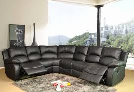 Corner Sofas With Recliners Brown Leather Corner Sofa Recliner Www Energywarden Net