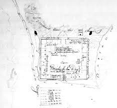 Mission San Jose Floor Plan by Historic California Posts El Presidio Real De San Diego