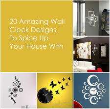 20 amazing wall clock designs to spice up your house with 0 jpg