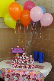 how to decorate birthday table pretty paper pretty ribbons birthday party day