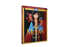 disney mulan 2 blu ray dvd classic disney movie cartoon dvd hote