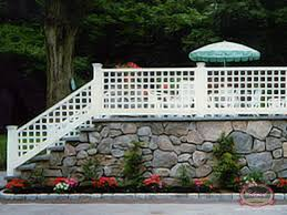 Curved Trellis Fence Panels Wood Fence Custom Specialties Colonial Fence Co Norfolk Ma