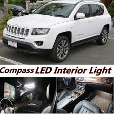 light gray jeep 6pcs x free shipping error free led interior light kit package for