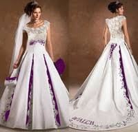 wholesale purple and white wedding dresses buy cheap purple and