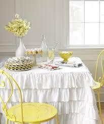 White Home Decor Accessories Ruffled Home Decor And Accessories