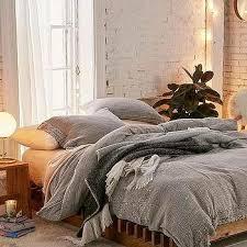 celestine metallic silver bedding