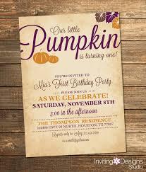 fall birthday invitations plumegiant com