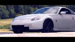 white nissan 350z modified the great white nissan 350z vellamo youtube