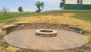 Block Firepit Pits Landscape Company In Western Cities Metro Area