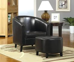 black leather club chair and ottoman club chair with ottoman pitcher chair ottoman contemporary