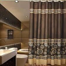 Large Shower Curtain Rings Blue And Brown Bathroom Bath Shower Curtain And Bath Rug Set
