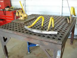 diy portable welding table lets see your welding tables pirate4x4 com 4x4 and off