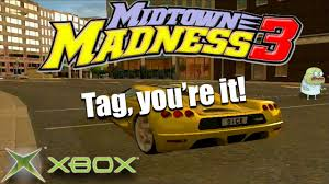 motocross madness 3 midtown madness 3 playing tag in koenigsegg cc8s original xbox