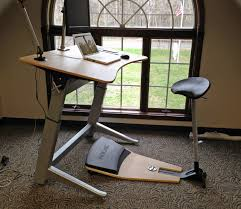 Tall Chairs For Standing Desks by Review Attractive Locus Workstation Standing Desk An Excellent