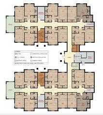 Dormitory Floor Plans Women U0027s Residence Hall Scm Architects